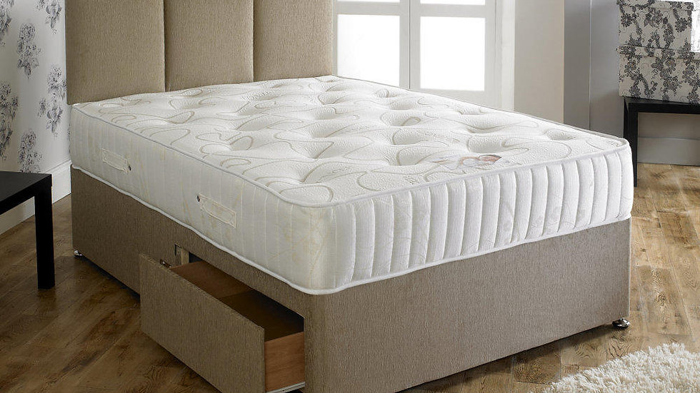 Tencel 1000 Memory Pocket Divan Bed