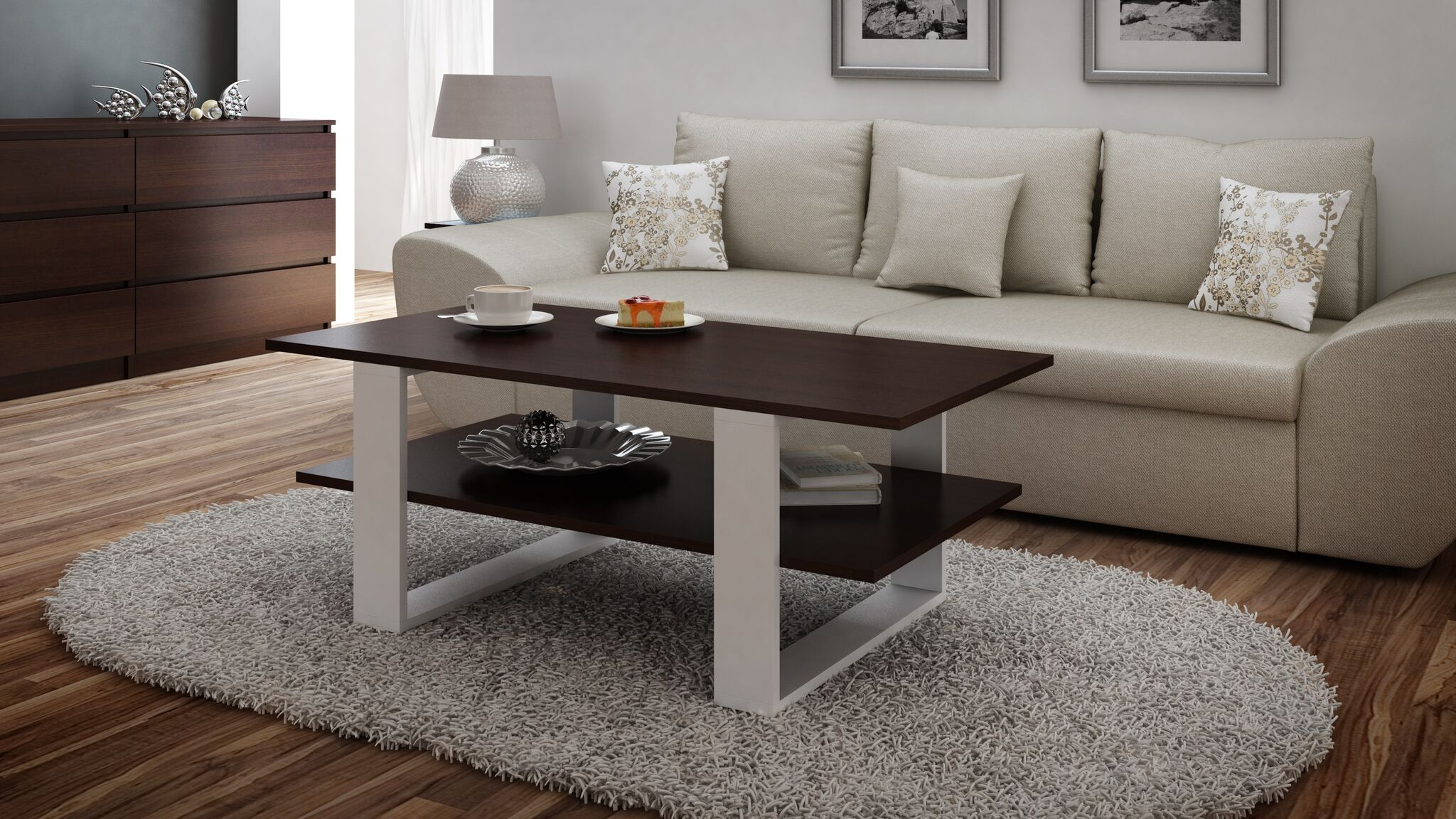 Martina Coffee Table (Wenge)