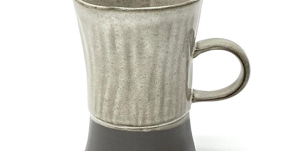 Milky Fluted Lady Mug