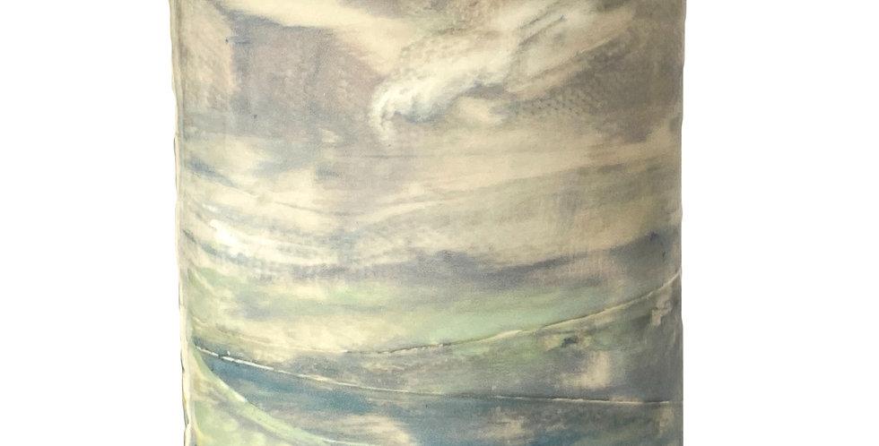 Oval Sabbath Vase