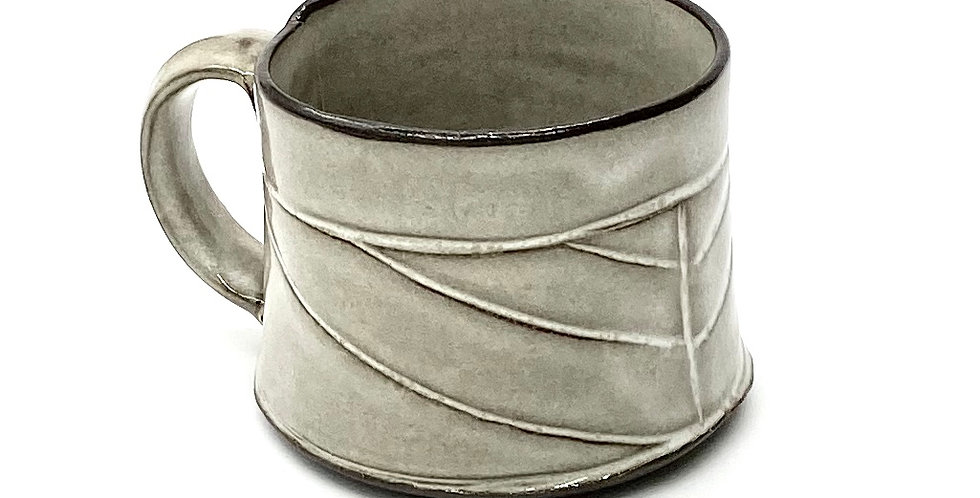 Milky Herringbone Shorty Mug