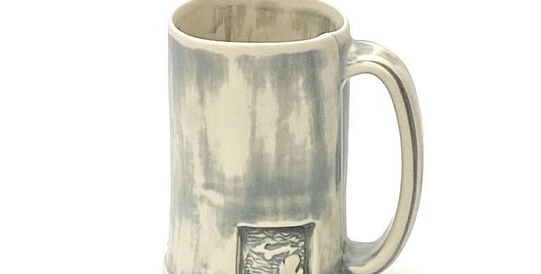 Washed Out Michigan Mug