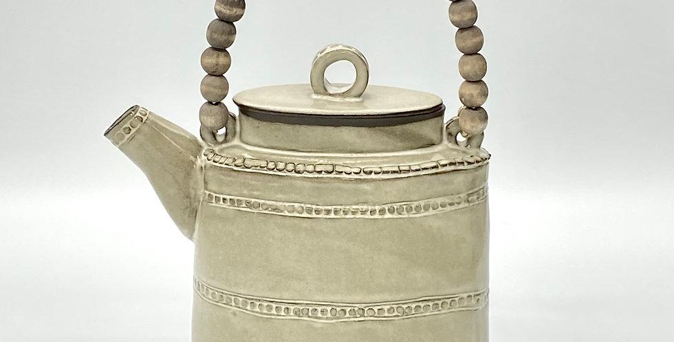 String of Pearl Tea/Coffee Pot