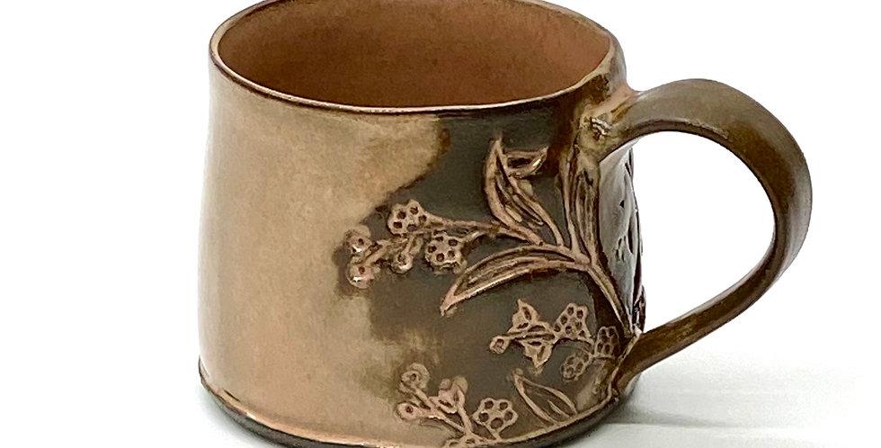 Milky Peach Blossom Shorty Mug