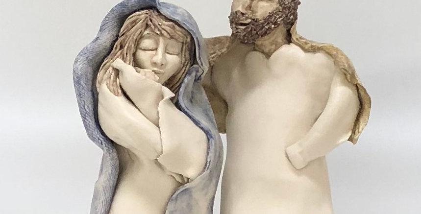 Mary Joseph and Baby Jesus 3