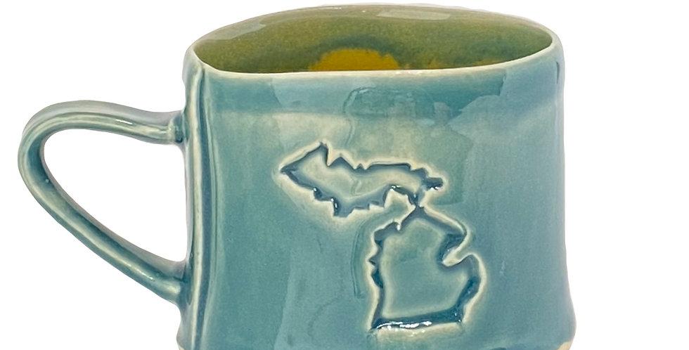 Michigan and Cherry Mug