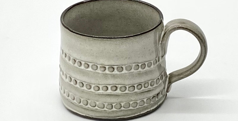 Milky String of Pearls Shorty Mug