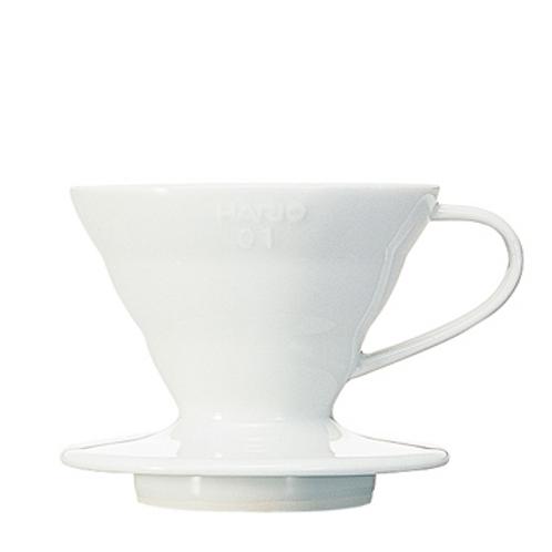 Coffee Dripper Ceramic, White