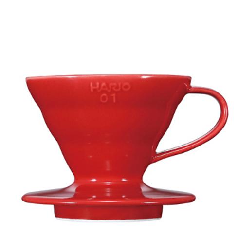 Coffee Dripper Ceramic, Red
