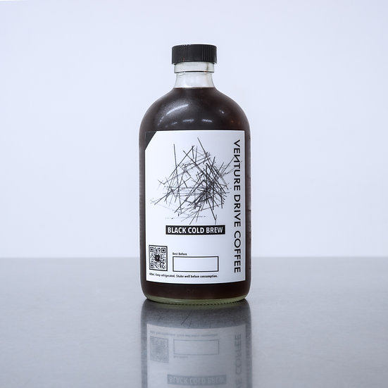 Black Cold Brew Coffee 480ml (ONLINE EXCLUSIVE)
