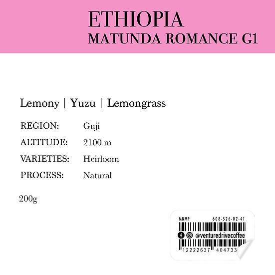 Ethiopia Matunda Romance G1