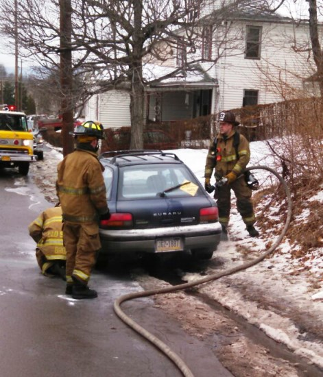 3/4/15 - Vehicle Fire