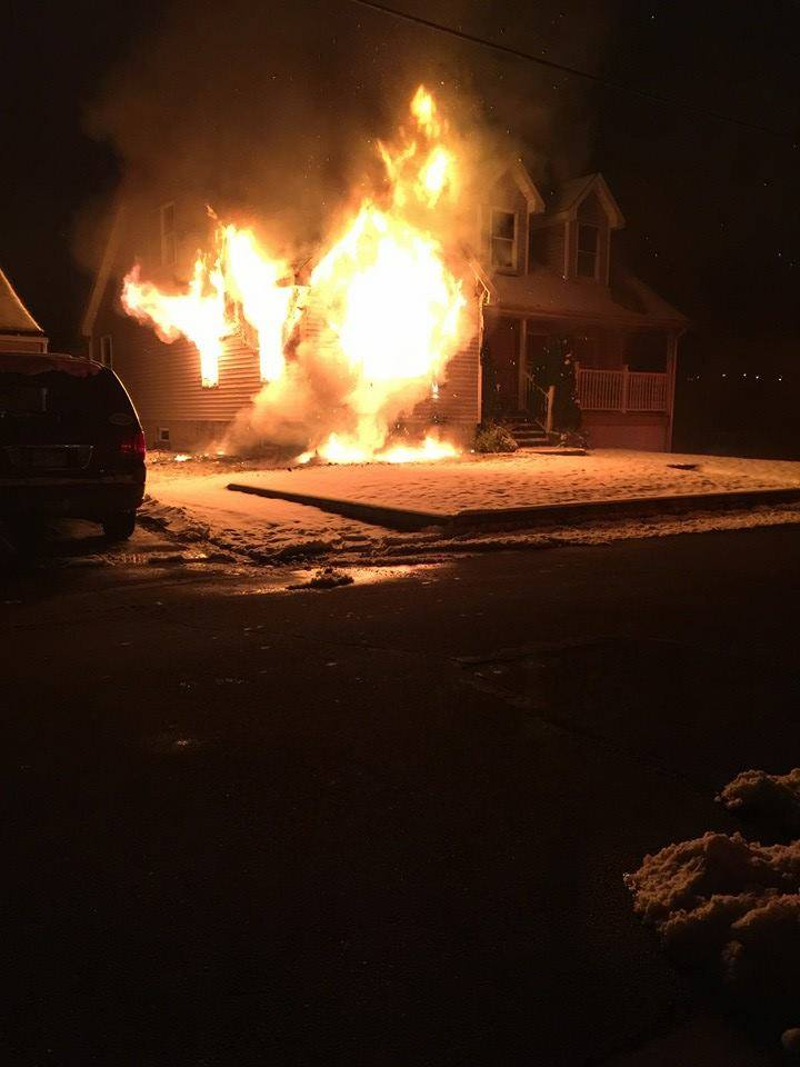 Moosic Residential Fire