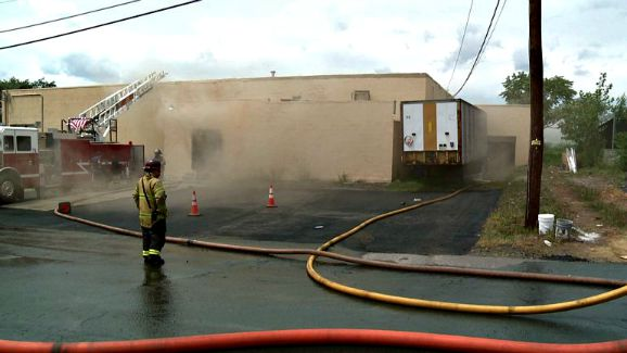 8/3/15 - Commercial Fire