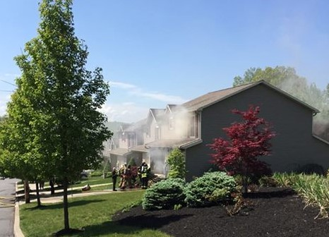 5/23/16 - Pittston Twp. Fire