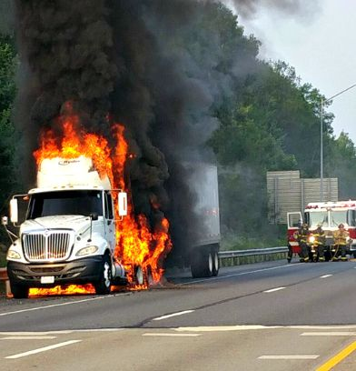 9/1/15 - Tractor Trailer Fire