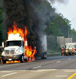 I81 Truck Fire