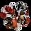 Thumbnail: WHITE ORANGES SCRUNCHIE