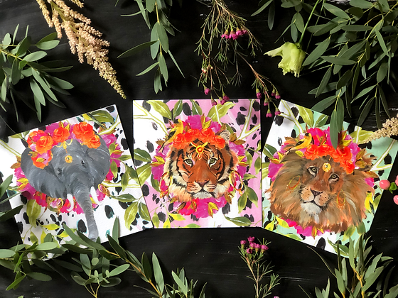 JUNGLE GLAMOUR PACK OF CARDS