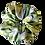 Thumbnail: WHITE BANANA LEAF OVERSIZED SCRUNCHIE