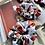 Thumbnail: WHITE ORANGES OVERSIZED SCRUNCHIE