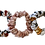 Thumbnail: TRIO BLUSH & WHITES SKINNY SCRUNCHIES
