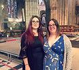 Ellie & Jenn (Chairs) at RLSS Award Cere