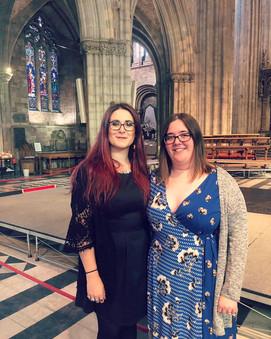 Ellie & Jenn (Chairs) at RLSS Awards