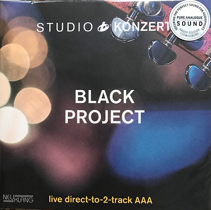 Black Project Studiokonzert Vinyl