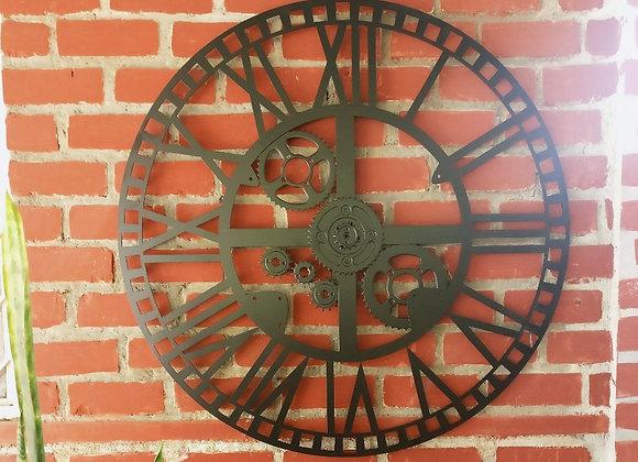 Giant Gear Clock