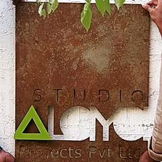 Rustic Name Plate