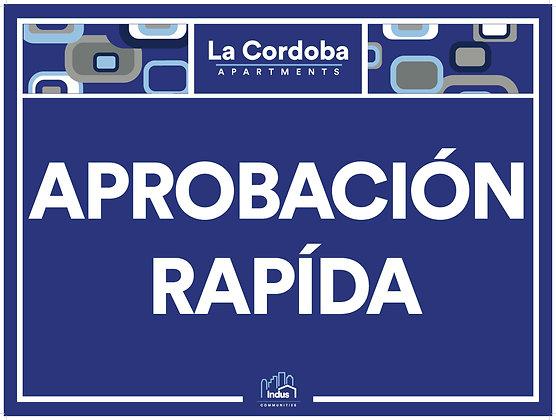 Aprobacion Rapida with Property Name