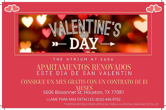 Valentines Day Special-Spanish