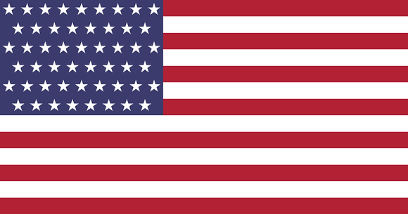 Flag of the United State of America