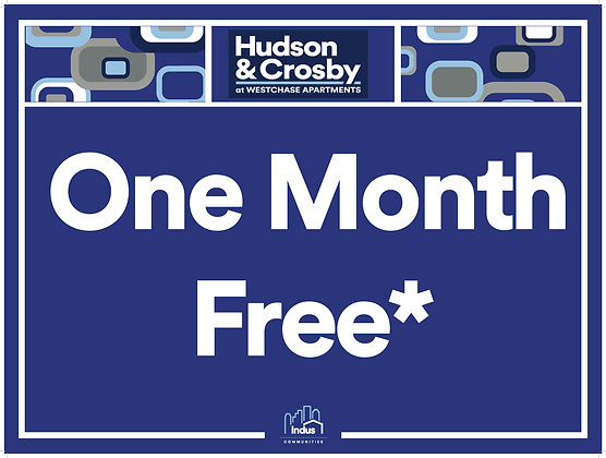 One Month Free with Property Name