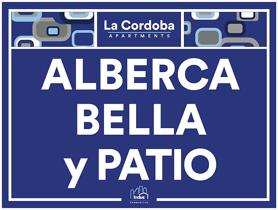 Alberca Bella y Patio with Property Name