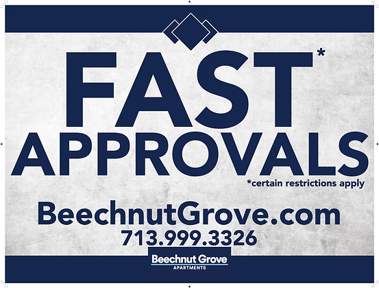 Fast Approvals