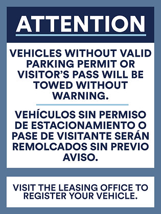 Attention for Parking