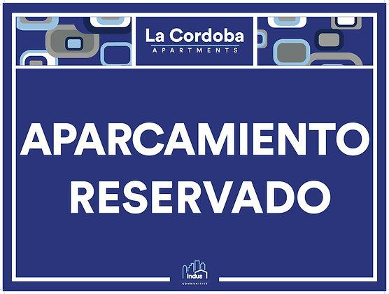 Aparcamiento Reservado with Property Name