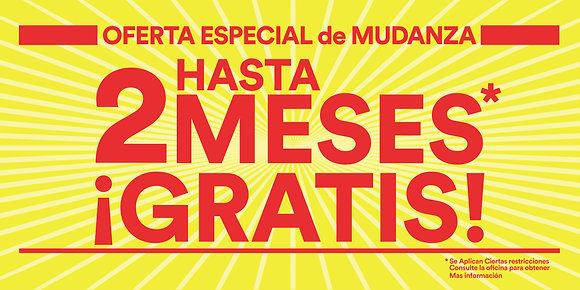 2 Month Free Banner- Spanish