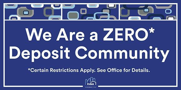 We Area Zero Deposit Community