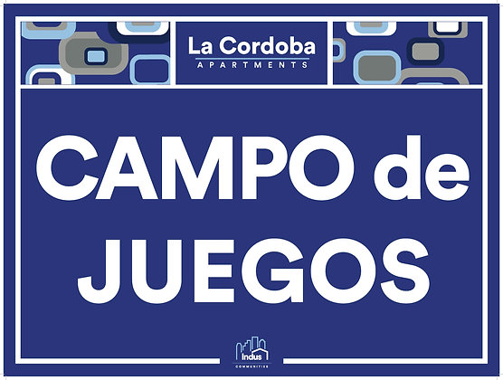 Campo de Juegos with Property Name
