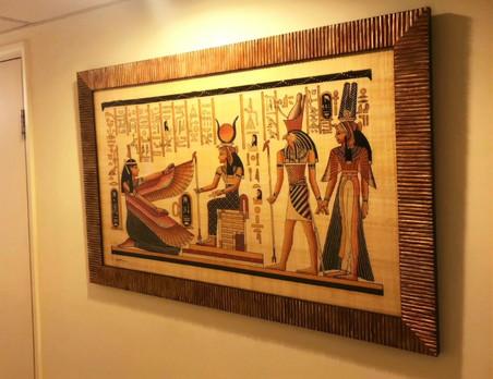 埃及紙草畫