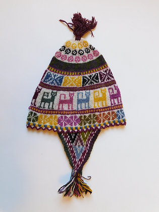 """""""Chullos"""" - Andean Textile Hats & Beanies-Adults"""