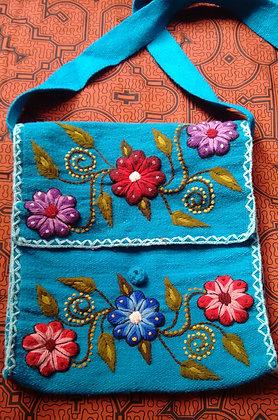 Purse/Bag Andean Floral Design