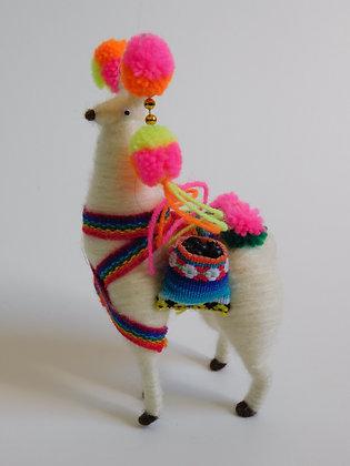 Andean Quechua Alpaca Dolls/Model