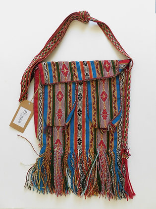 "Andean Rare ""Triple"" Bag - Master Weaver Textile"