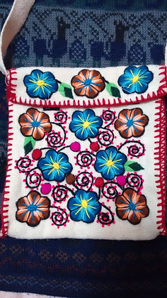 Purse/Bag Andean Floral Design