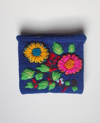 Coin Purse - Andean Floral Design