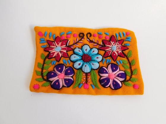 Pouch Wayapa - Andean Floral Design
